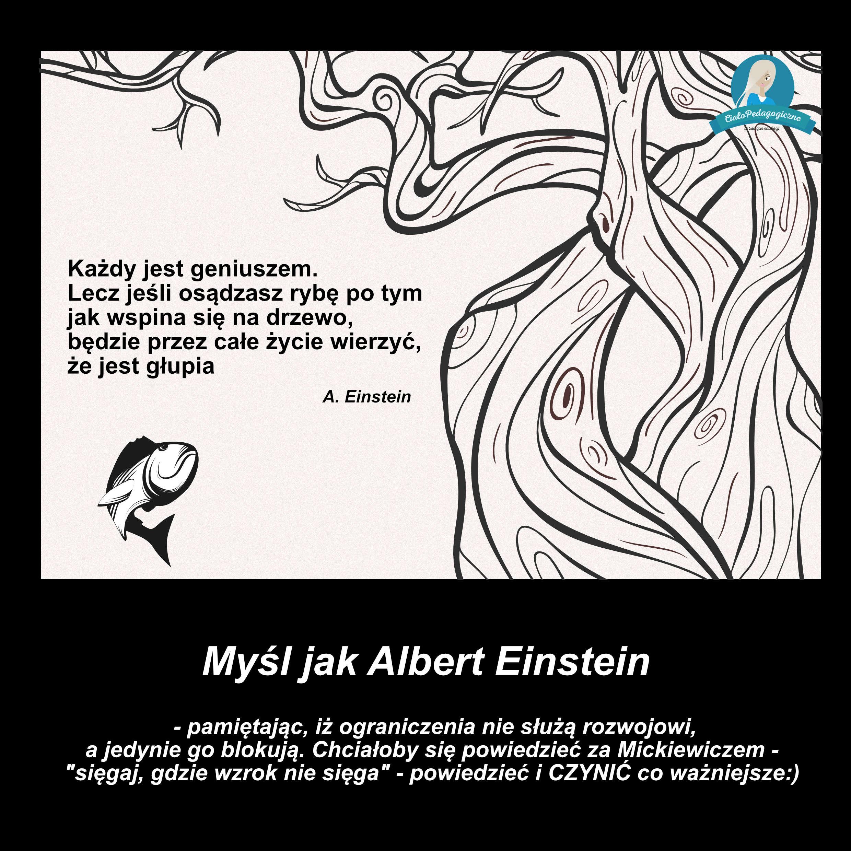 Myśl jak Albert Einstein